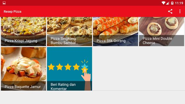 Resep Pizza screenshot 13