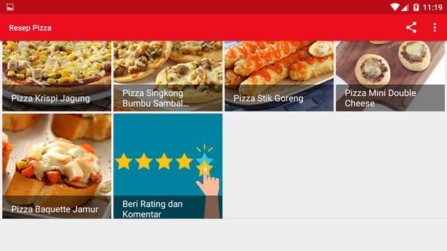 Resep Pizza screenshot 9