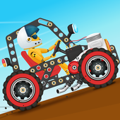 Crie carros jogo para criança