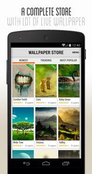 3D Parallax Wallpaper captura de pantalla 1