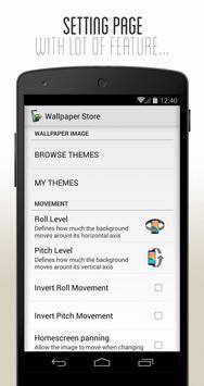 3D Parallax Wallpaper captura de pantalla 4