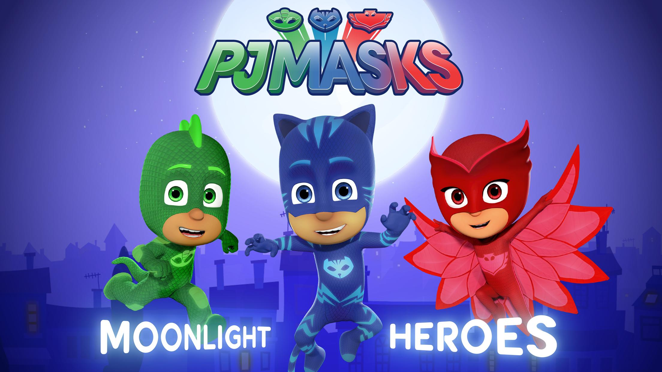 PJ Masks: Moonlight Heroes app for Android download 2019