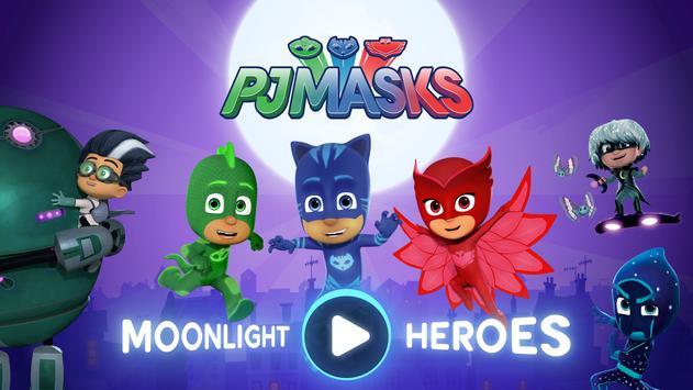 PJ Masks: Moonlight Heroes poster