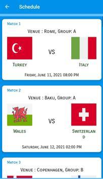 UEFA EURO 2020-2021 Predictions : Schedule : Teams screenshot 2