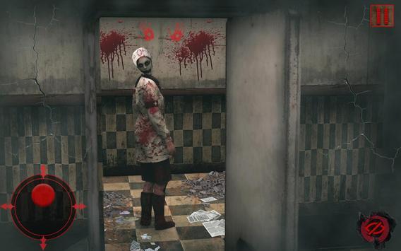 Evil Nurse Scary Stories Horror Dark Hospital Game screenshot 1