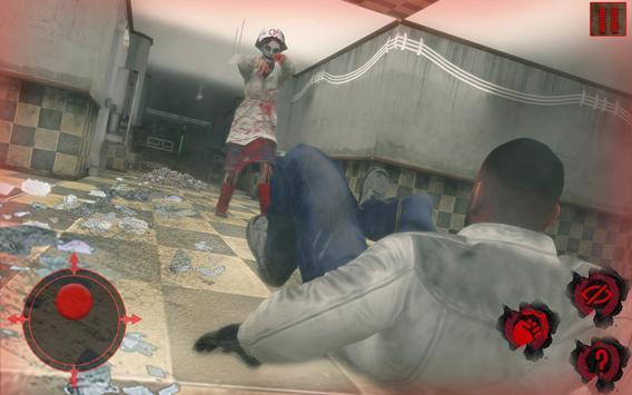 Evil Nurse Scary Stories Horror Dark Hospital Game screenshot 9