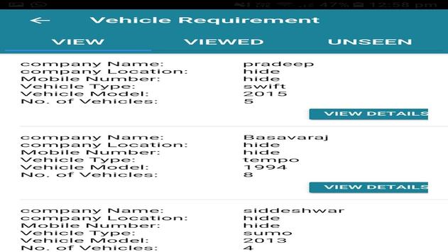 MNCTransports screenshot 1