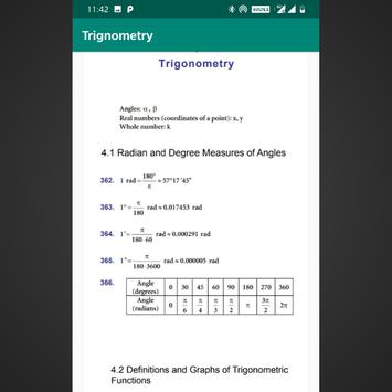 Maths Formulas screenshot 1