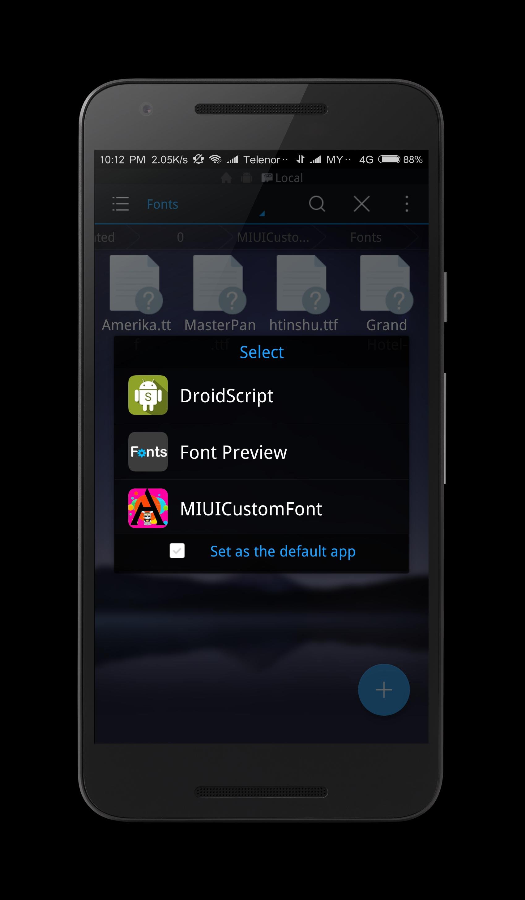 MIUI Custom Font Installer for Android - APK Download