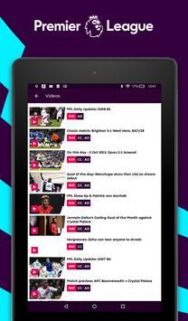 Premier League - Official App تصوير الشاشة 17