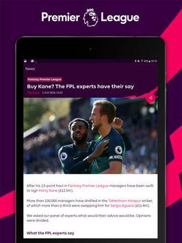 Premier League - Official App скриншот 10