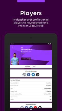 Premier League - Official App تصوير الشاشة 10