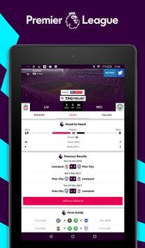 Premier League - Official App تصوير الشاشة 13