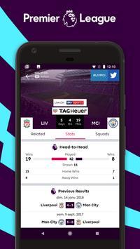 Premier League - Official App تصوير الشاشة 1