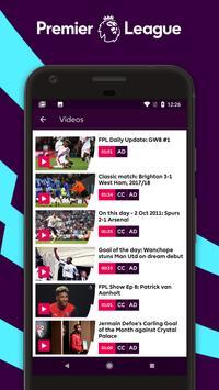 Premier League - Official App screenshot 5