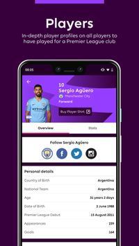 Premier League - Official App تصوير الشاشة 5