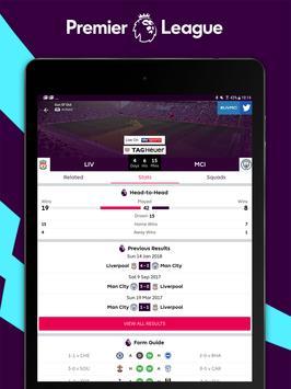 Premier League - Official App تصوير الشاشة 7