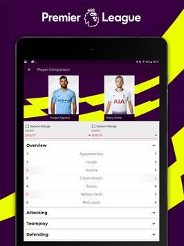 Premier League - Official App تصوير الشاشة 8