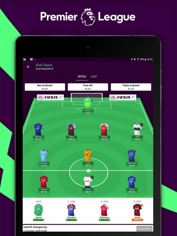 Image Result For Fantasy Premier League