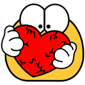 Icona Emojidom emoticon ed emoji animate / GIF