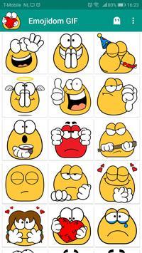Emojidom émoticônes & emoji animées / GIF Affiche