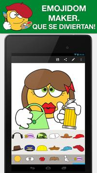 Emojidom Smiley & Emoji Maker captura de pantalla 23