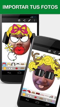 Emojidom Smiley & Emoji Maker captura de pantalla 2