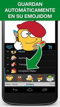 Emojidom Smiley & Emoji Maker captura de pantalla 4