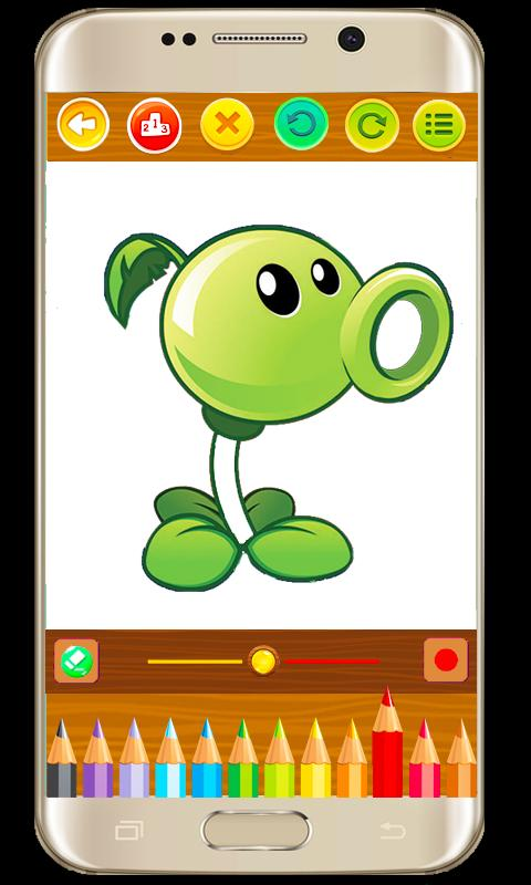 Libro De Colorear De Plants Vs Zombies For Android Apk Download