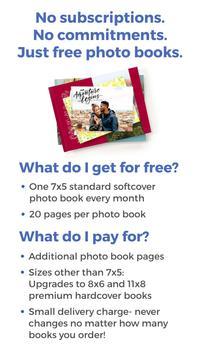 FreePrints Photobooks - Free book every month screenshot 14