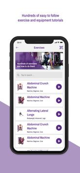 Planet Fitness Workouts تصوير الشاشة 3