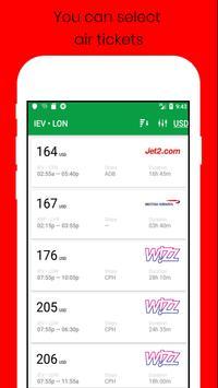 Plane Tickets screenshot 3