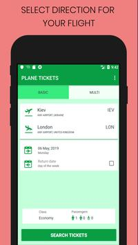 Plane Tickets poster