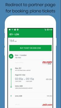 Plane Tickets screenshot 5