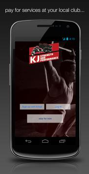 KJ Strength and Performance poster