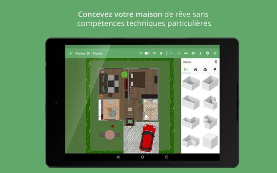 Planner 5D capture d'écran 12