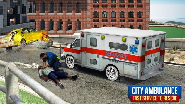 City Ambulance Rescue 2019 screenshot 1