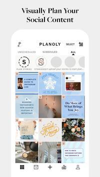 PLANOLY: Schedule Posts for Instagram & Pinterest 포스터