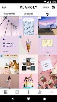 PLANOLY: Schedule Posts for Instagram & Pinterest bài đăng