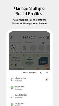 PLANOLY: Schedule Posts for Instagram & Pinterest 스크린샷 6