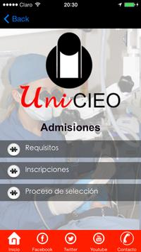 UniCIEO screenshot 2