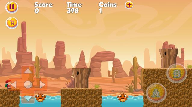 Super Jay World - The best classic platform game ! screenshot 1