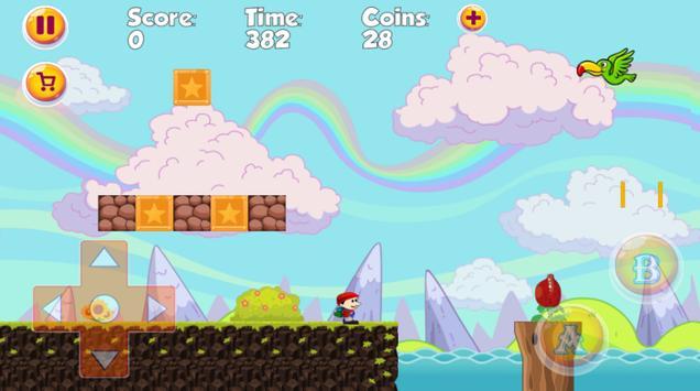 Super Jay World - The best classic platform game ! screenshot 3