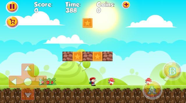 Super Jay World - The best classic platform game ! screenshot 5