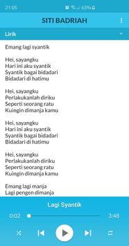 Lagu Siti Badriah MP3 Offline + Lirik screenshot 2