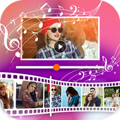 Photo Slideshow with Song - Movie Maker 2019 icon