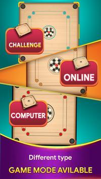 Carrom board game - Carrom online multiplayer screenshot 1