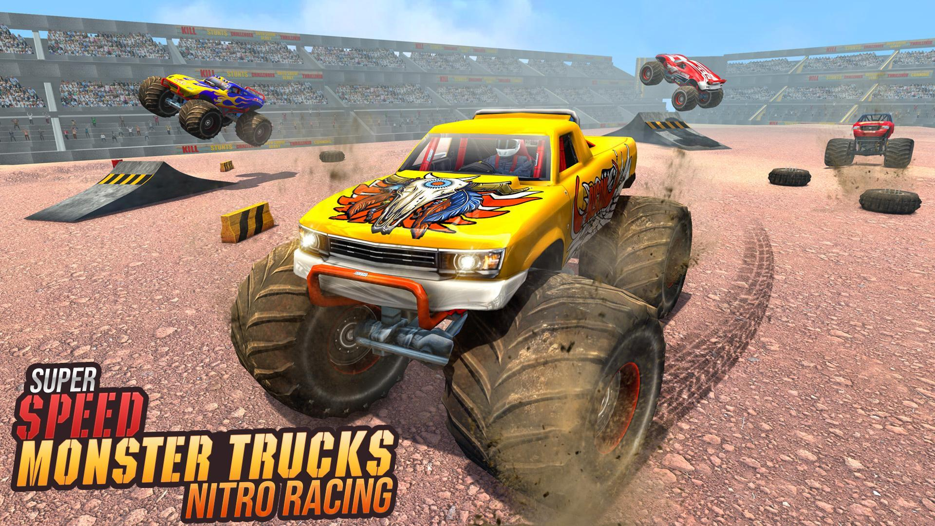 Real Monster Truck Demolition Derby Crash Stunts For Android Apk Download