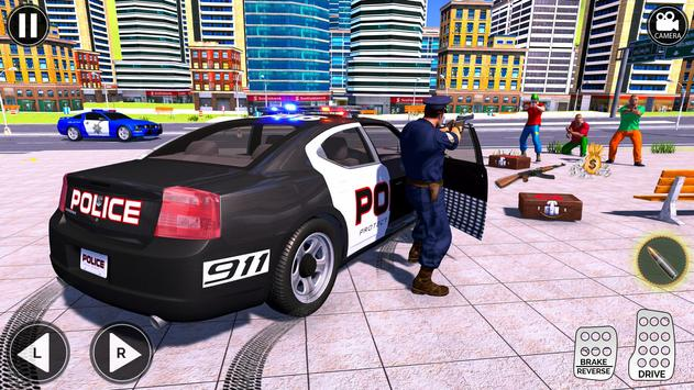 Grand Police Prado Jeep Car Gangster Chase screenshot 10
