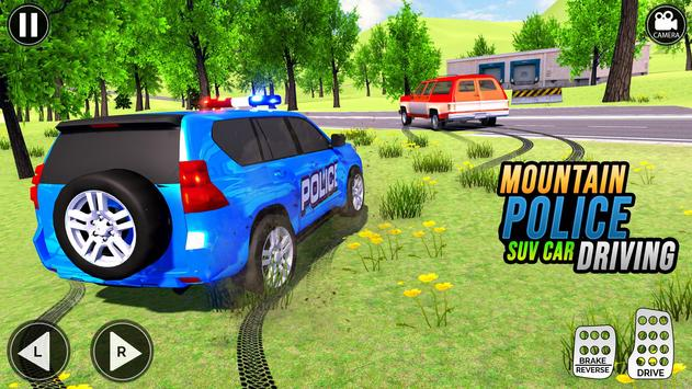 Grand Police Prado Jeep Car Gangster Chase screenshot 8